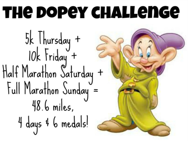Image result for disney dopey challenge