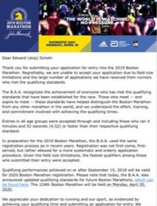 7efaf8aa8d01f Runner Left Out of 2019 Boston Marathon Due To Timing Chip Issue and ...